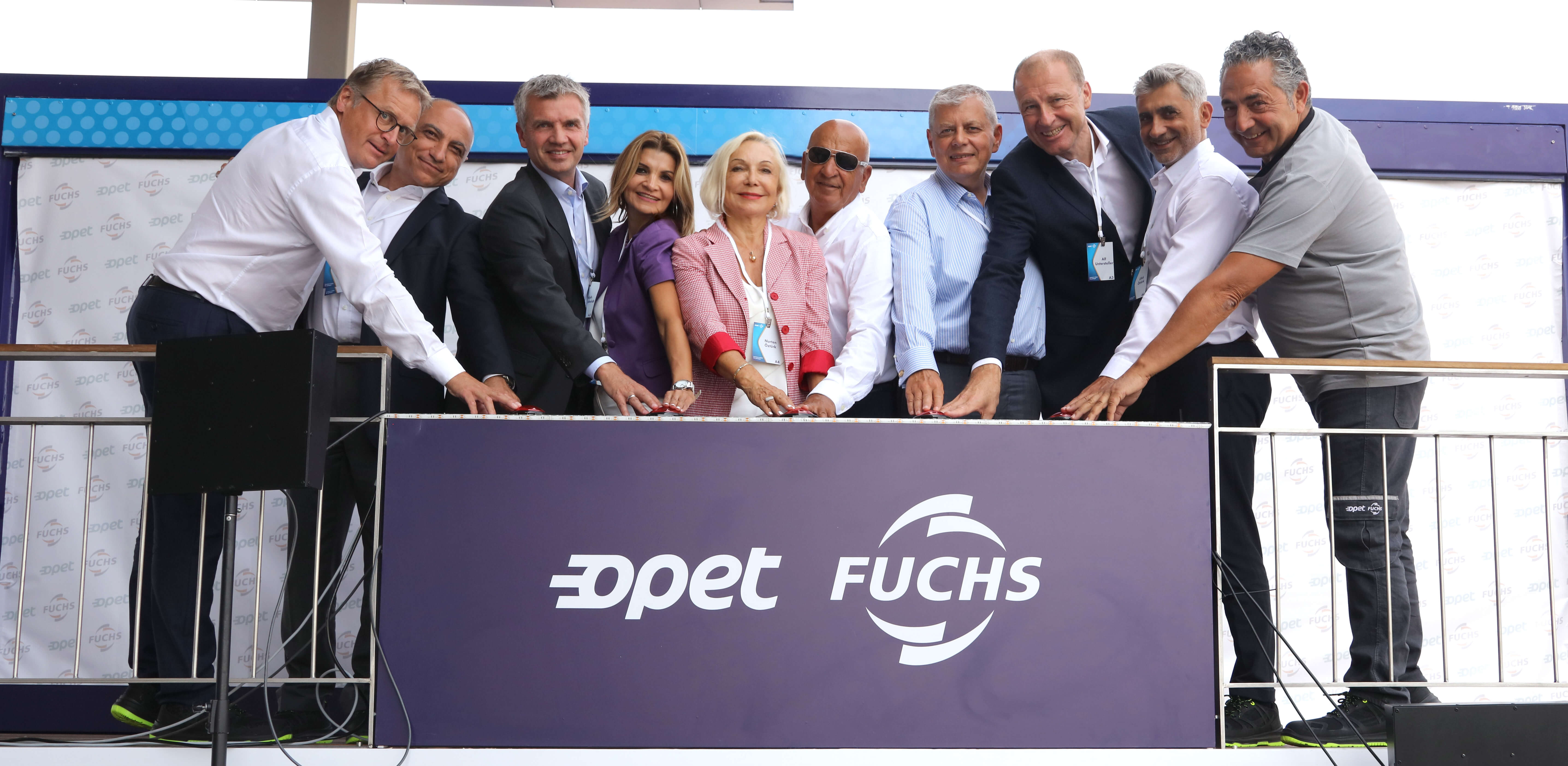 Opet Fuchs' new plant opened in Izmir, Turkey